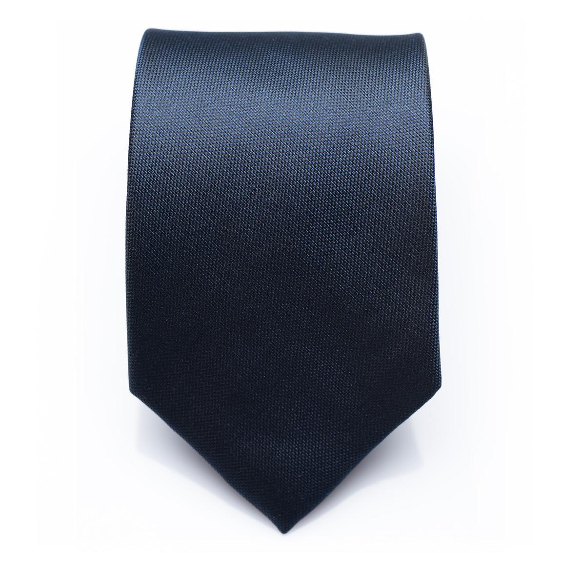 Kingsdale Persian - Blue silk necktie