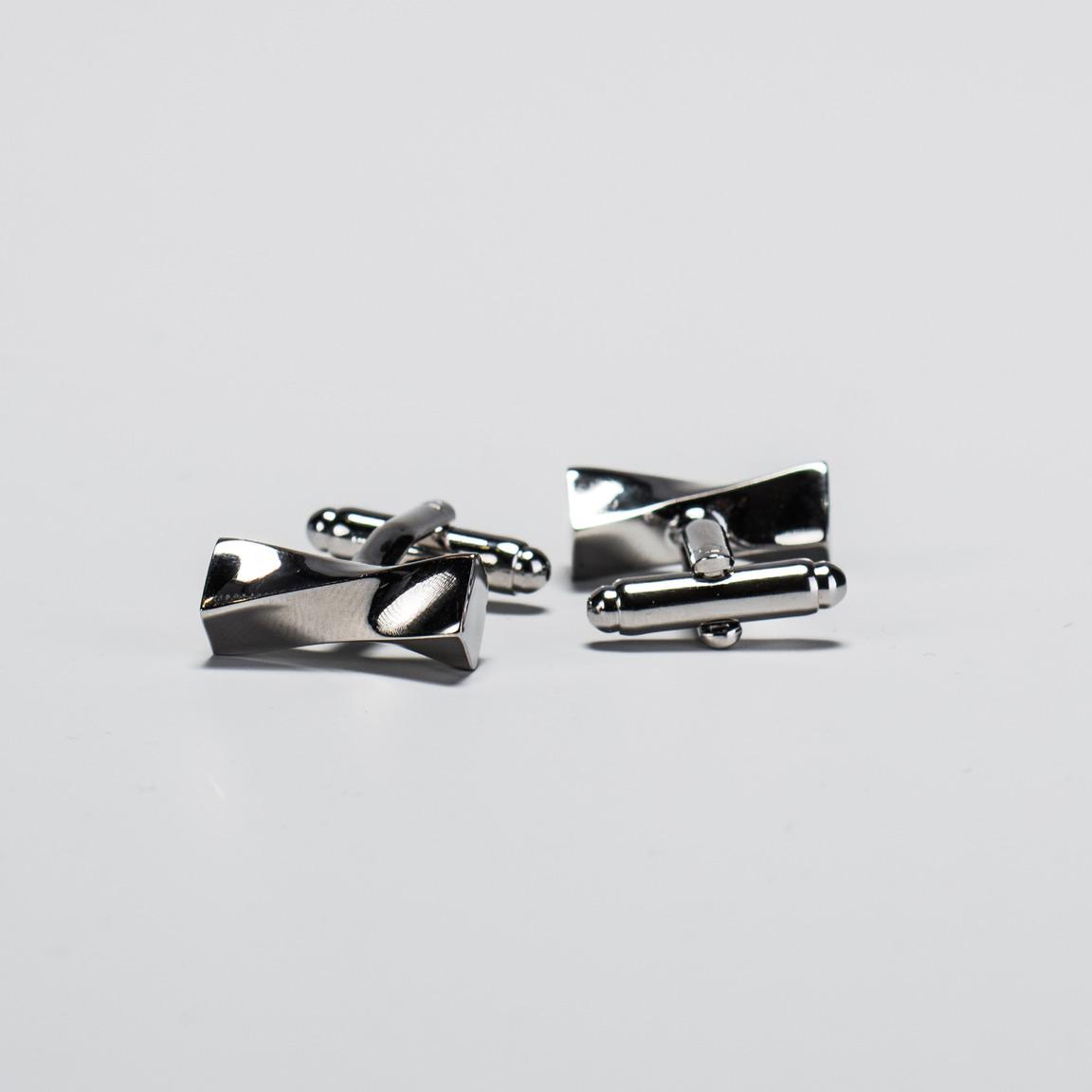 Silver Twist Cufflinks