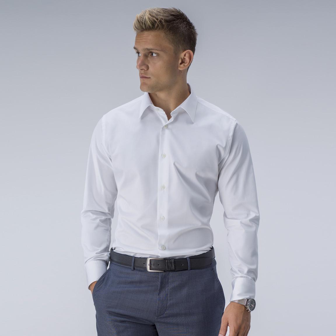 Weißes Business-Hemd