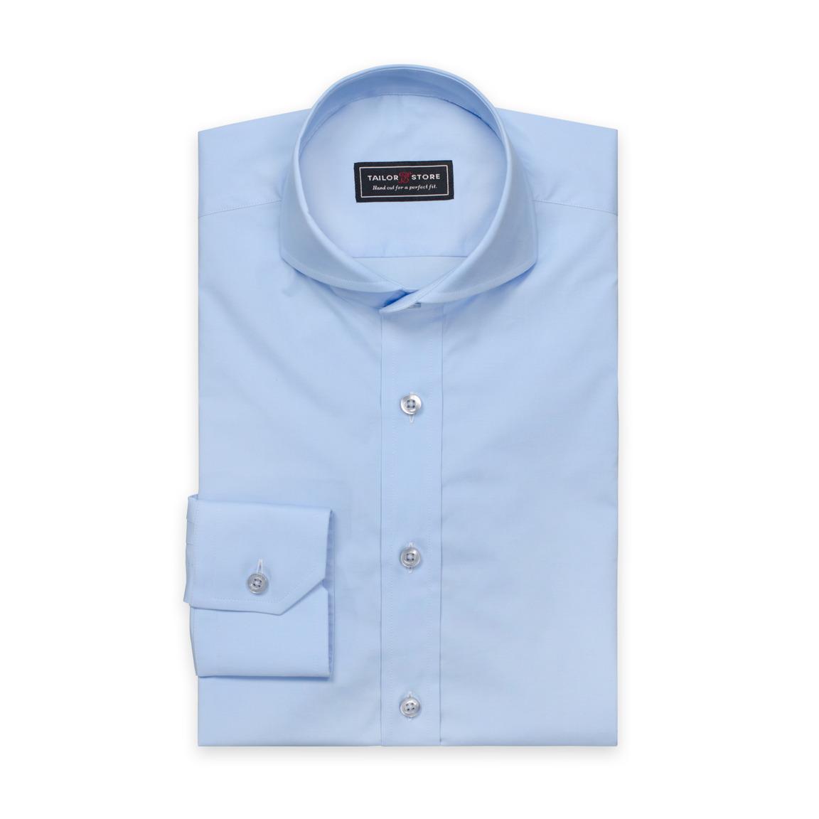 Lyseblå cut-away extreme skjorte