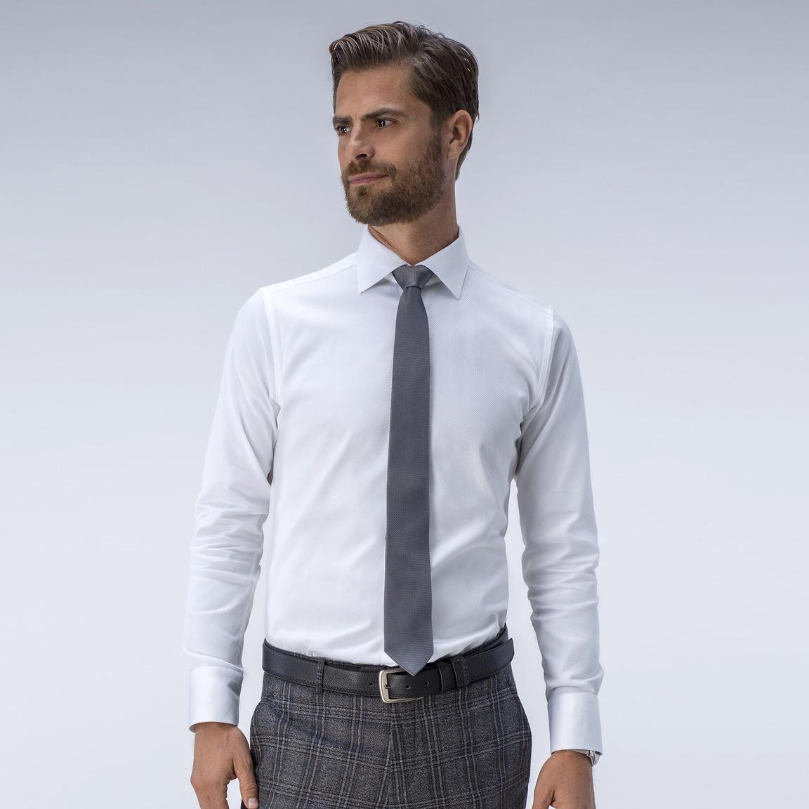 Exklusives Hemd in Weiß