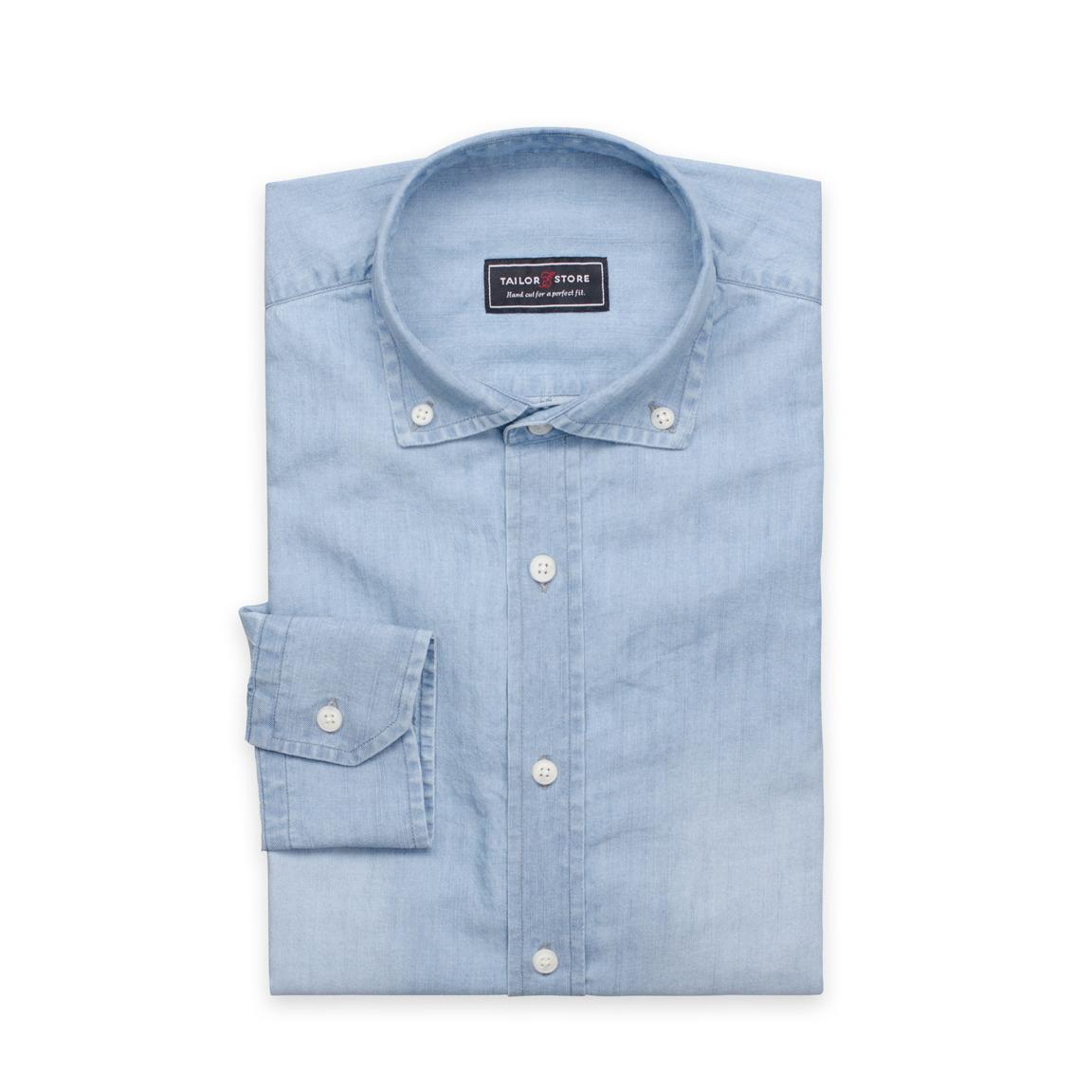 e871d025 Light blue denim shirt | Tailor Store