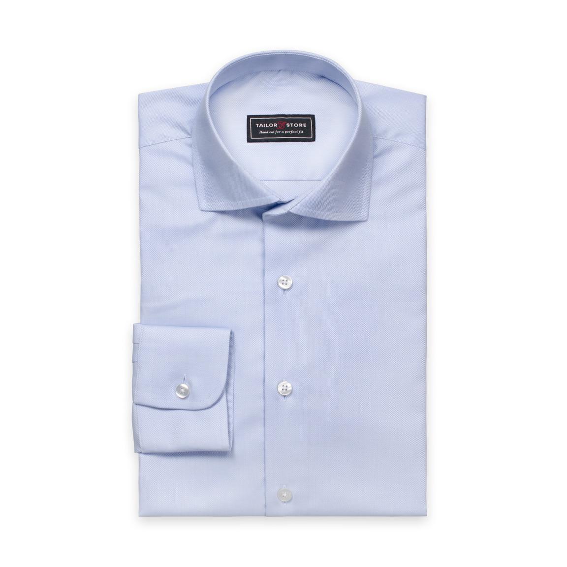 Ljusblå oxfordskjorta