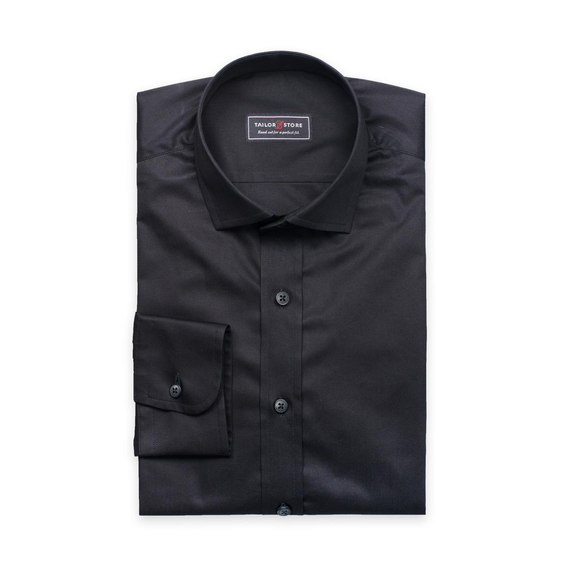 Ramsey, trendig svart skjorta