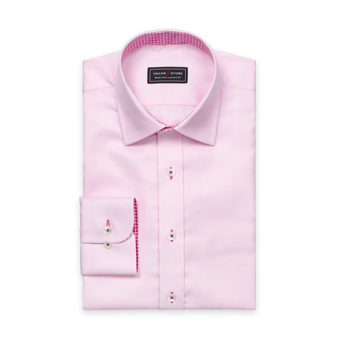 Light pink cotton shirt