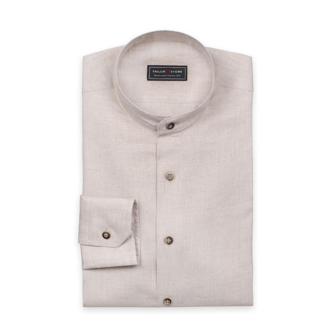 Sand colored linen shirt