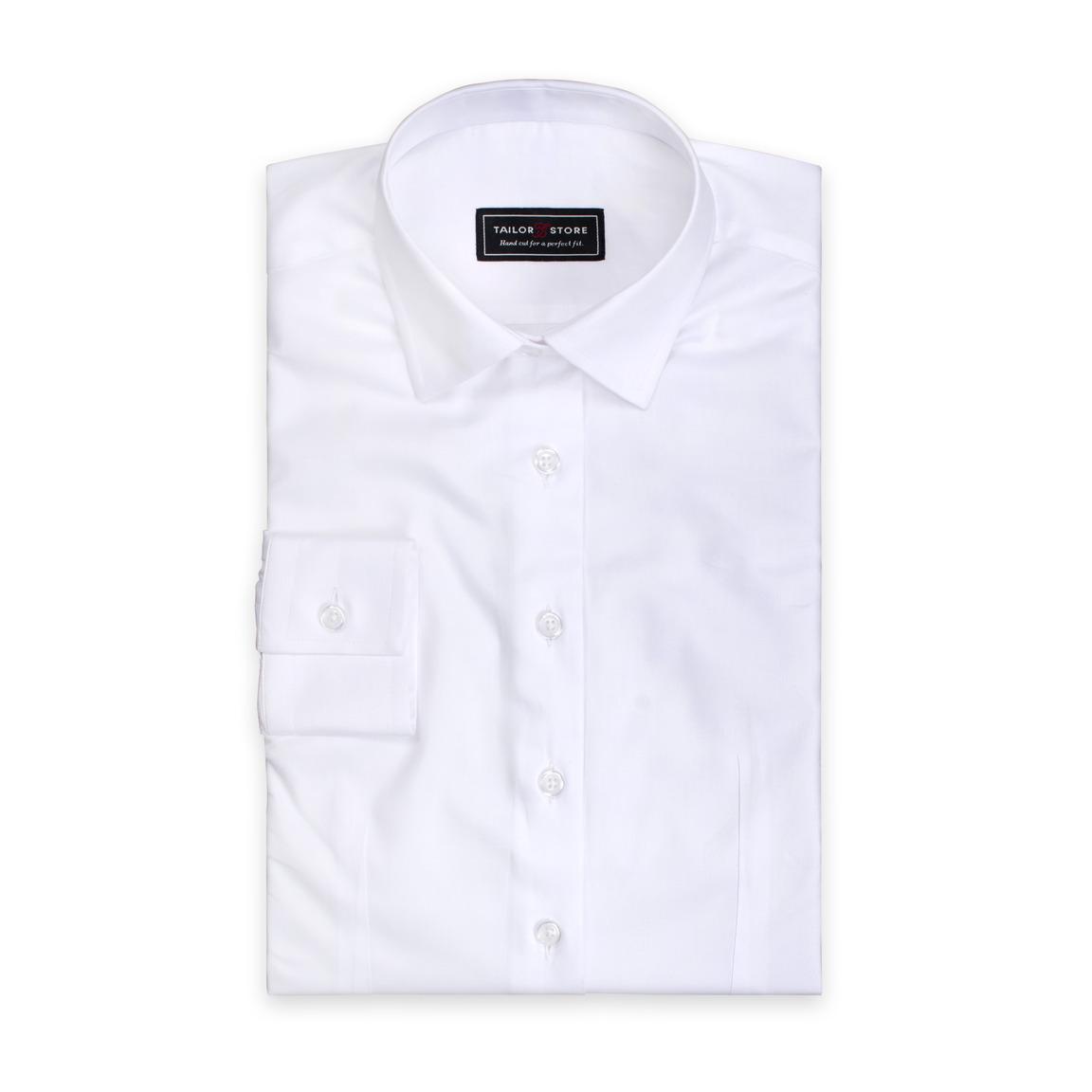 White Tailor Made Business Women S Shirt