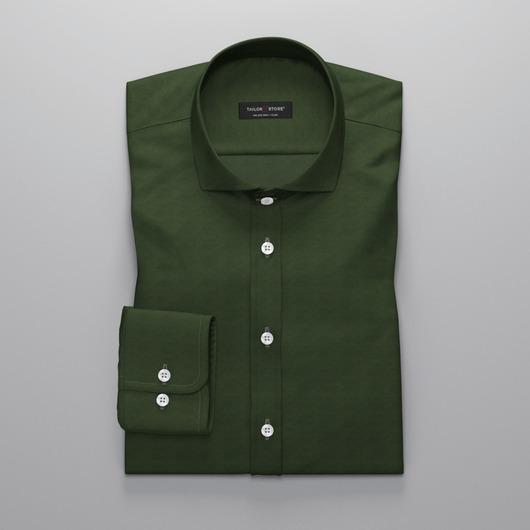 Dark green oxford dress shirt<br>