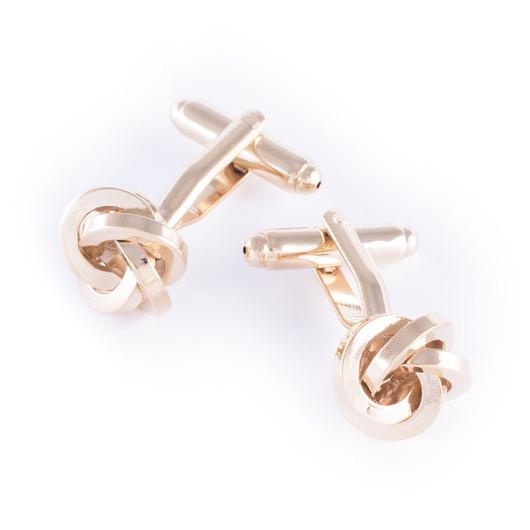 Camarillo - Manschettknappar gyllene knop
