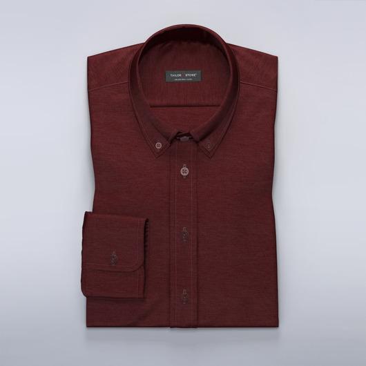 Rød hørskjorte