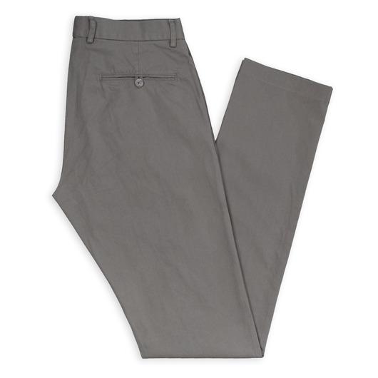 Chino gris sur mesure