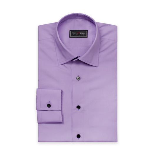 Lilla poplin skjorte med business krave