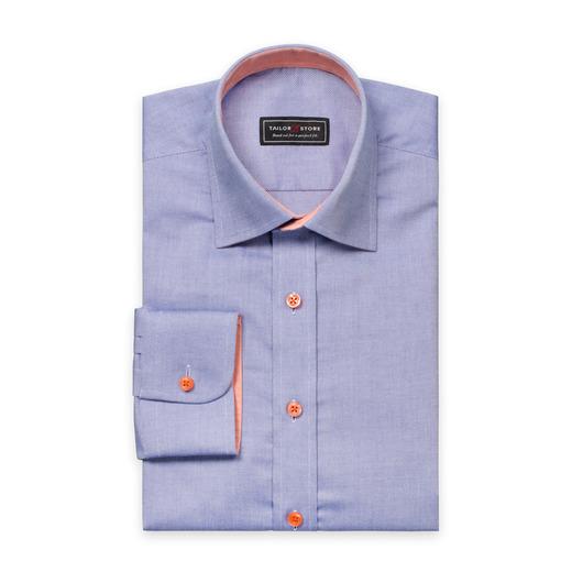 Dark blue oxford business classic shirt