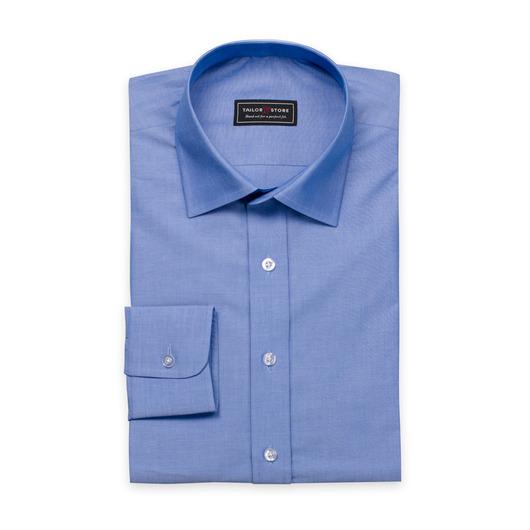 Dark blue chambray shirt